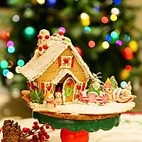 童话世界-圣诞姜饼屋和圣诞树的做法图解26