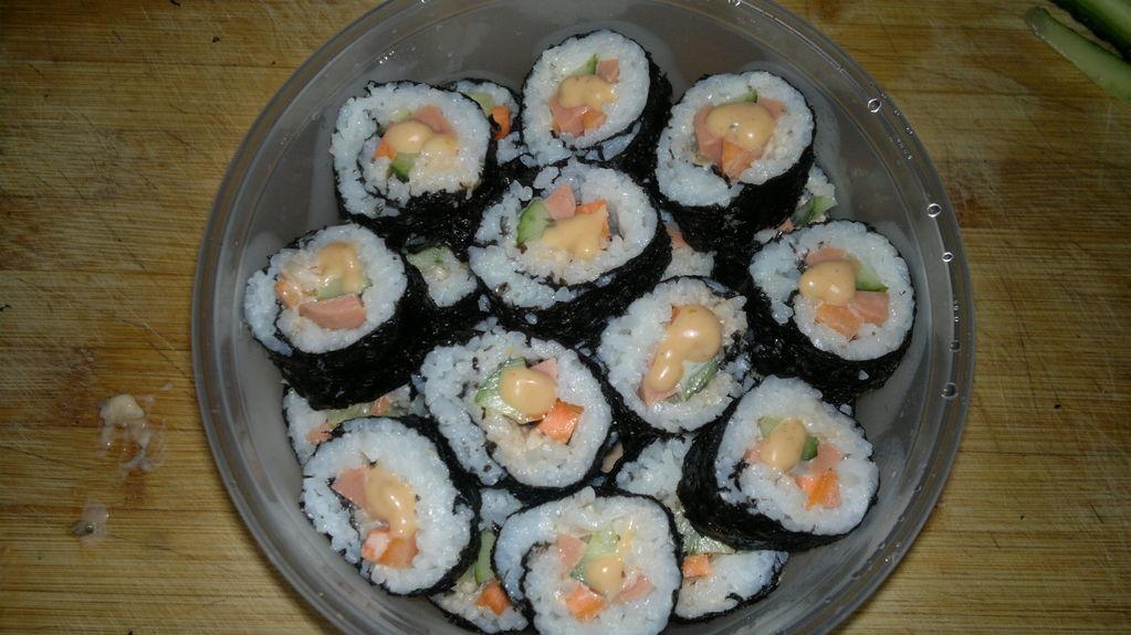 diy可爱寿司的做法图解4