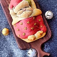 圣诞爷爷面包#圣诞烘趴 为爱起烘#的做法图解12