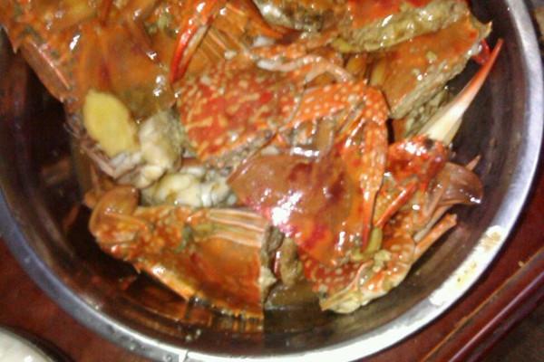 酸甜螃蟹的做法