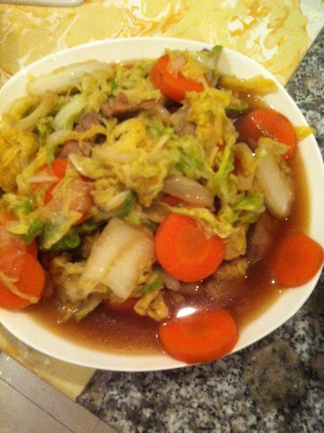 大锅菜的做法图解1