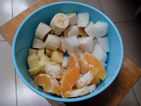 宿舍简易水果沙拉的做法步骤