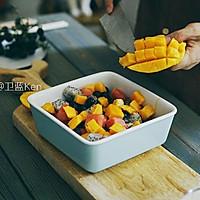 荔枝冰饮+西米水果捞 | 味蕾时光的做法图解6