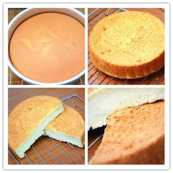 烤箱做蛋糕(戚风蛋糕的做法)的做法步骤图片