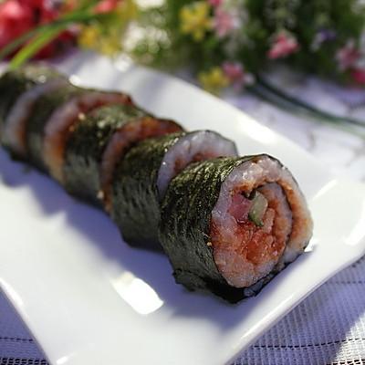 寿司简笔画教程