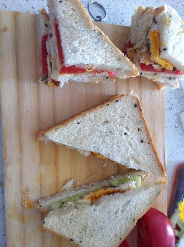 懒人三明治的做法步骤