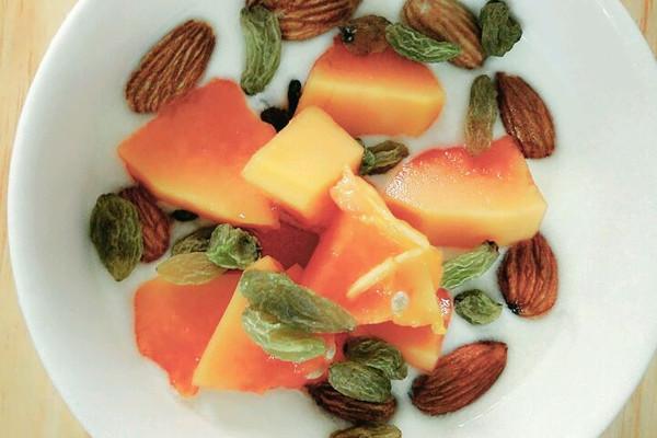 自制木瓜酸奶的做法_【图解】自制木瓜酸奶怎么做
