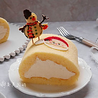 圣诞彩绘蛋糕巻-圣诞烘趴 为爱起烘