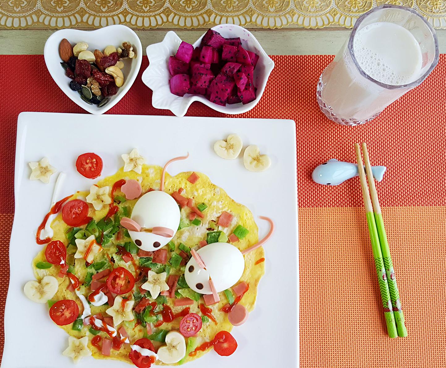 儿童早餐的做法图解6