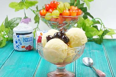 自制冰淇淋(无冰碴.熟蛋)