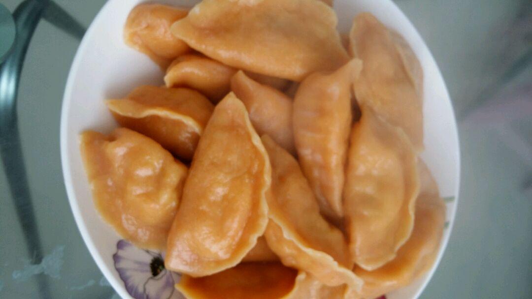 橙色饺子的做法_【图解】橙色饺子怎么做如何做好吃