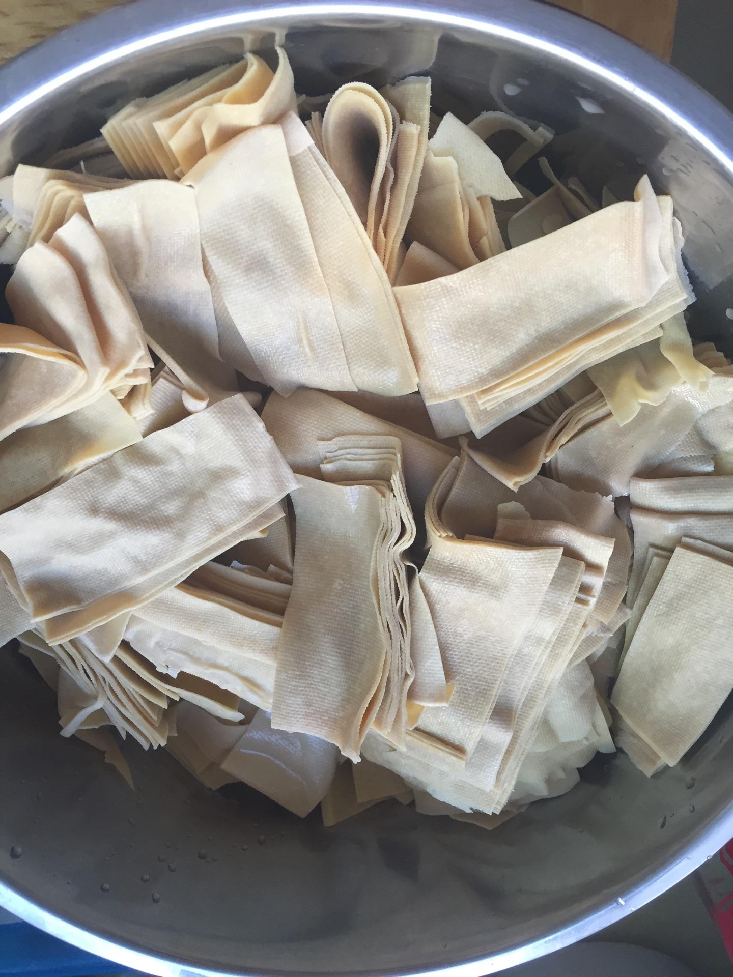 红油豆皮的做法_【图解】红油豆皮怎么做如何做好吃