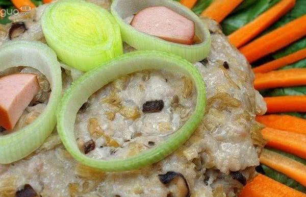 梅菜蒸肉餅的做法