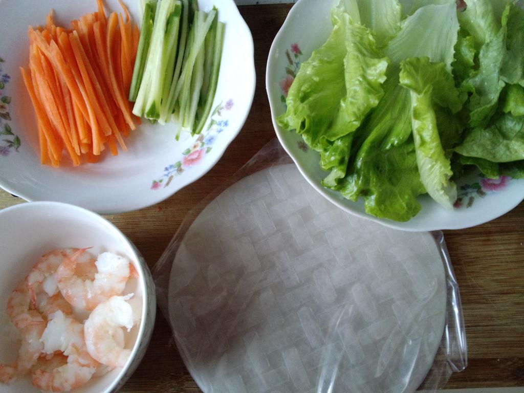 上海年夜饭必备——泰式春卷的做法步骤