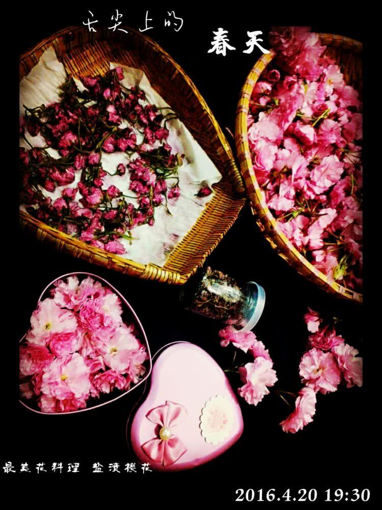 盐渍樱花的做法步骤