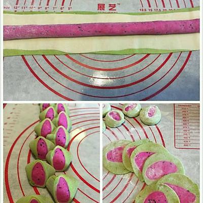 彩色果蔬饺子——西瓜饺子