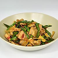 做法小炒肉#美的微波炉肥肠#的火锅_【图解】杨农家小菜谱走路图片