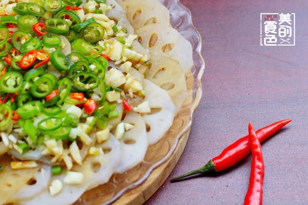 凉拌酸辣藕片的做法 凉拌酸辣藕片怎么做如何做好吃 凉拌酸辣藕片家