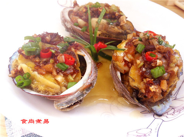 XO酱蒜蓉蒸菜谱的做法_【图解】XO酱蒜蓉蒸有名鲍鱼区康巴什图片
