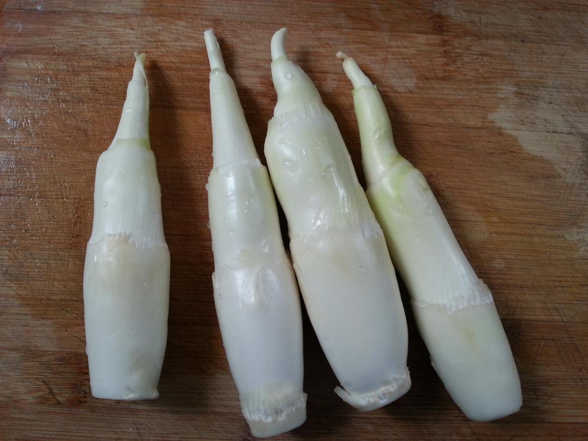 鸭血炒茭白的做法_【图解】鸭血炒茭白怎么做如何做