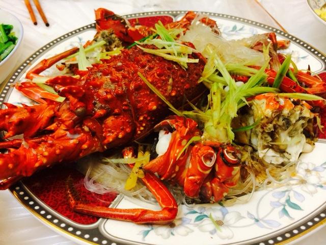 蒜蓉油淋龙虾的做法_【图解】蒜蓉油淋龙虾怎么做如何
