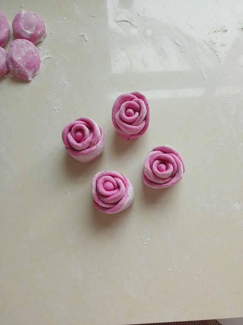 花样面食~玫瑰的做法图解8