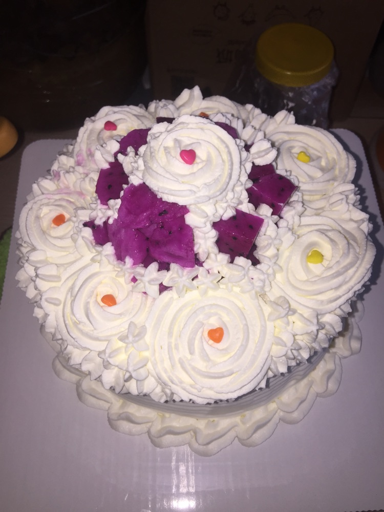 六寸水果蛋糕(简单)的做法步骤