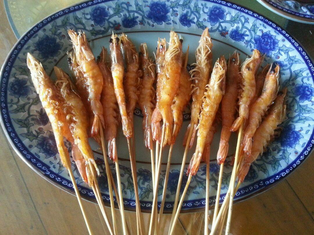 虾串串香的做法图解8