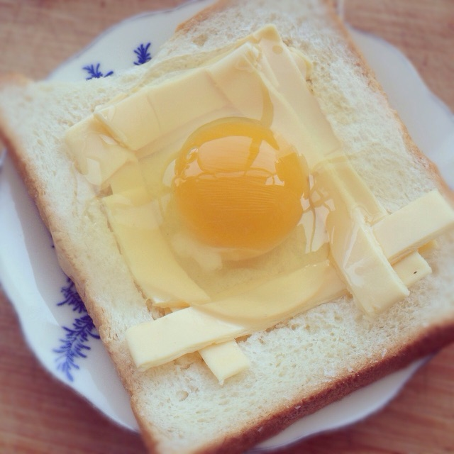 鸡蛋芝士吐司的做法图解5