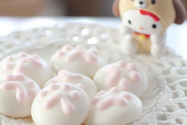 送给宝宝的超萌零食 - 猫爪棉花糖