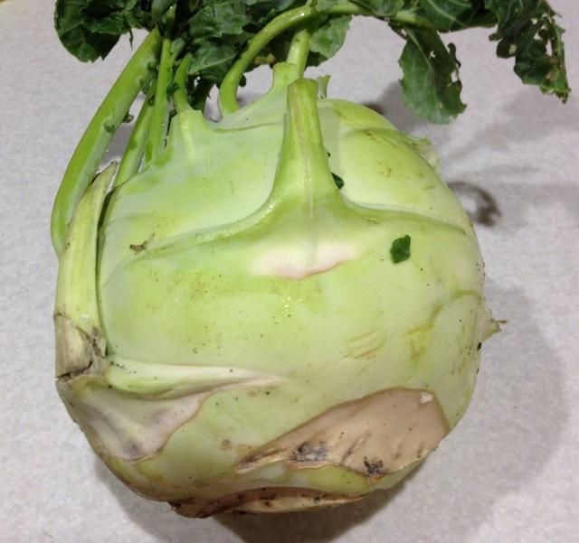 菠萝拌菜头的做法图解1