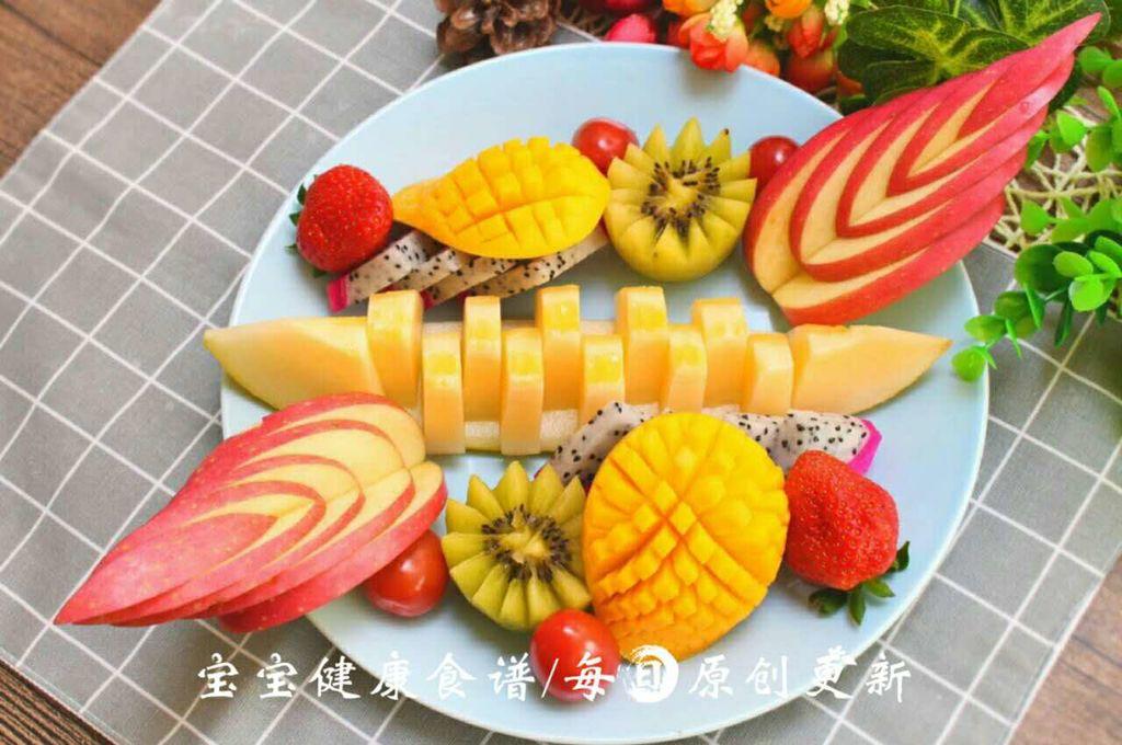 水果盘 宝宝健康食谱 的做法_【图解】水果盘 宝宝 做