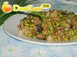 青豆炒萝卜丁的做法