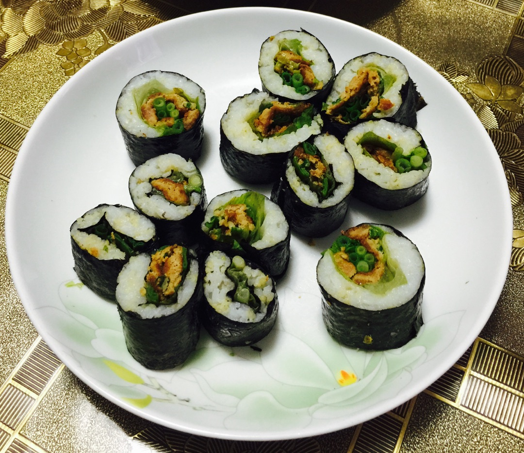 中餐寿司卷的做法图解9