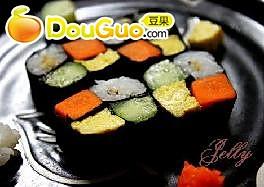 田字寿司的做法