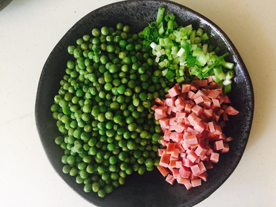 什锦豌豆的做法图解1