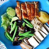 黑胡椒煎鸡胸肉(减脂餐)的做法图解6