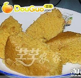 玉米豆面糕的做法