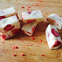 草莓牛轧糖的做法图解7