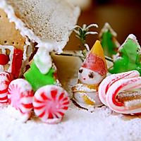 童话世界-圣诞姜饼屋和圣诞树的做法图解29