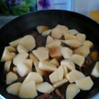 铁锅炖大鹅土豆的做法图解3