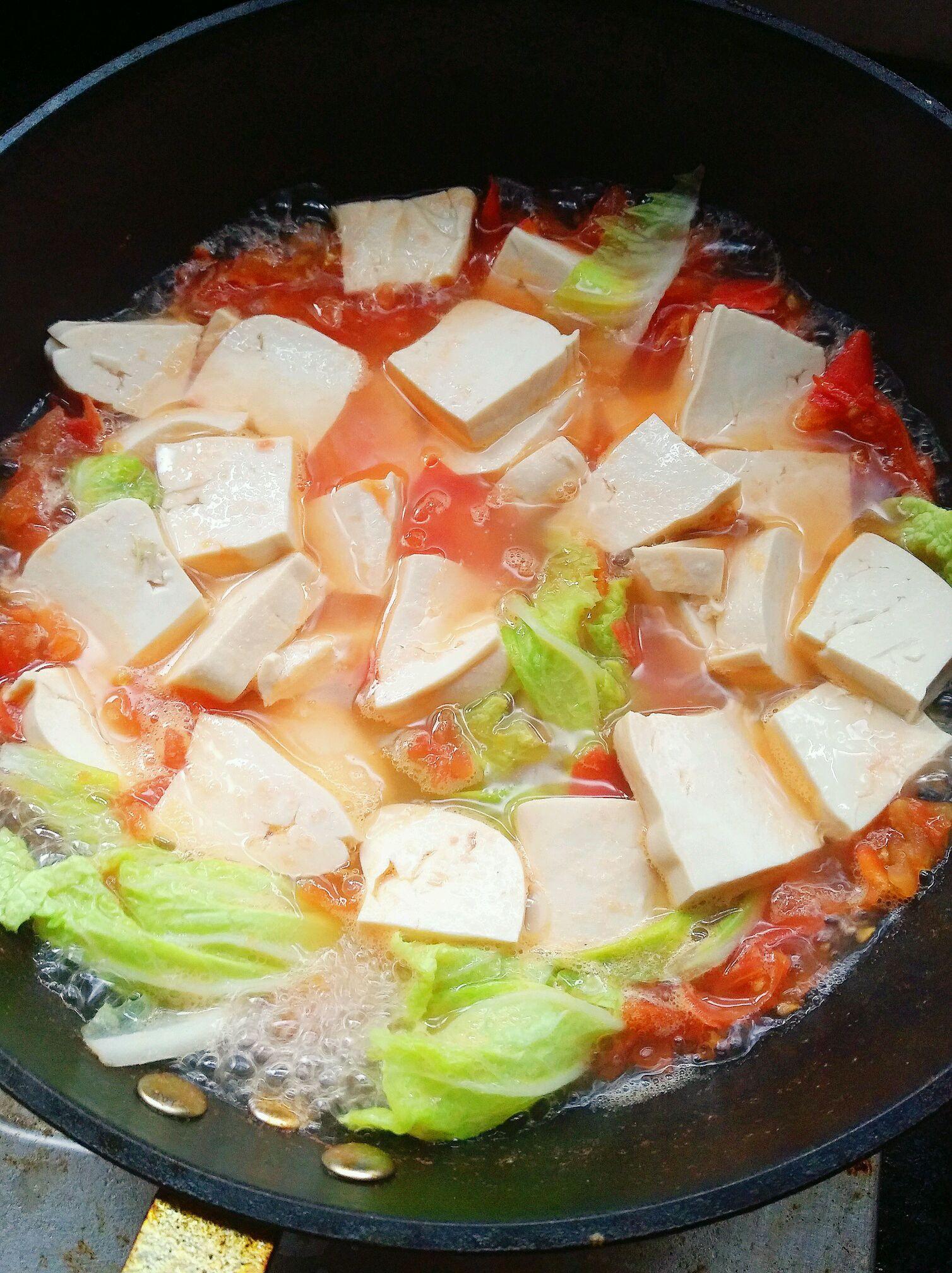 豆腐三鲜汤