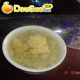 桂花红薯汤的做法
