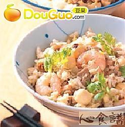 越南炒椰奶饭的做法