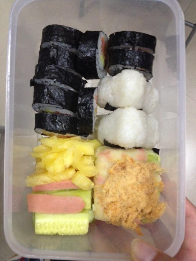 寿司便当的做法_【图解】寿司便当怎么做如何做好吃