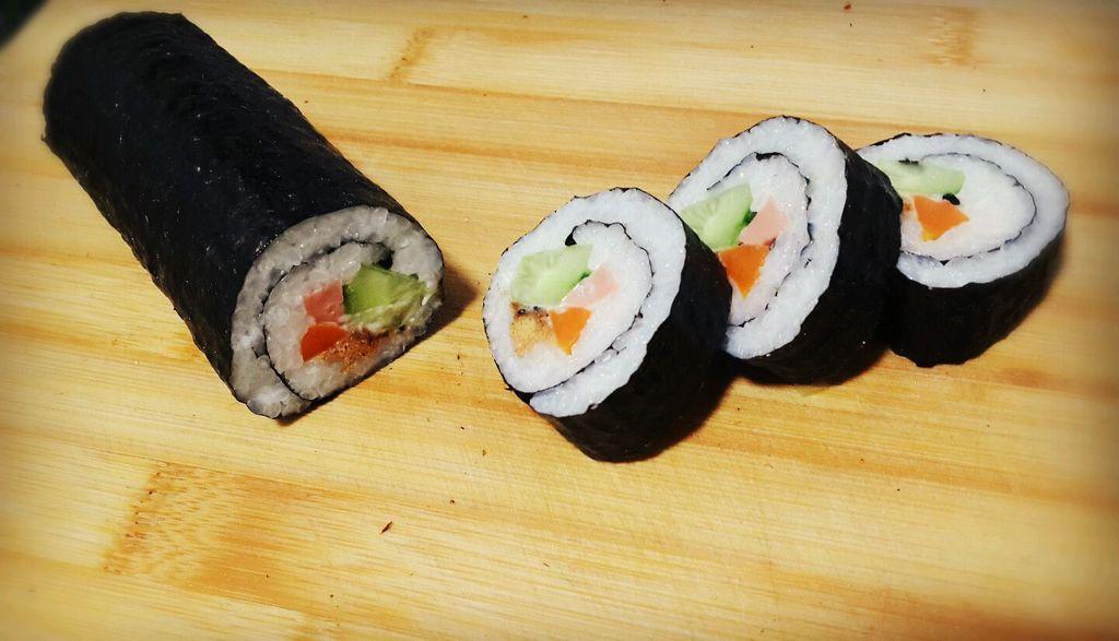 家庭寿司(省时,简单,营养,易携带)的做法图解5