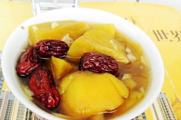 红薯红枣姜汤的做法