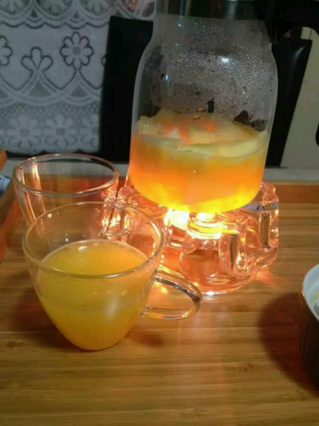 水果茶(橙子,苹果,梨)的做法步骤