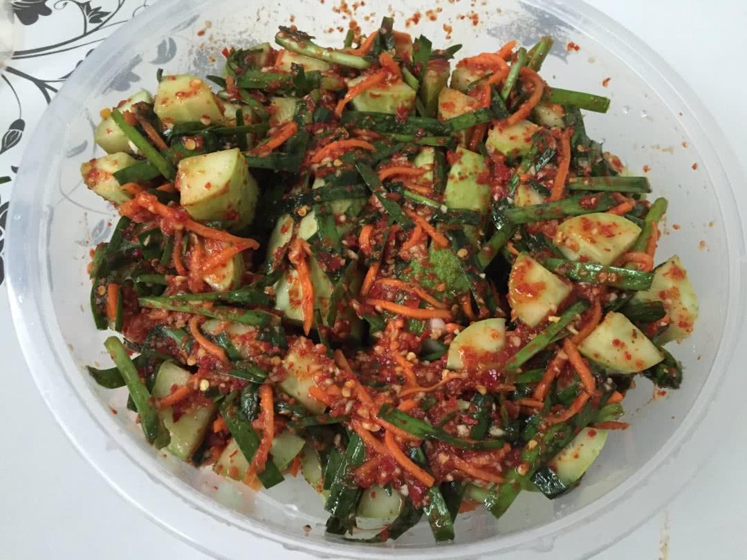 韩式凉菜-黄瓜段的做法图解10