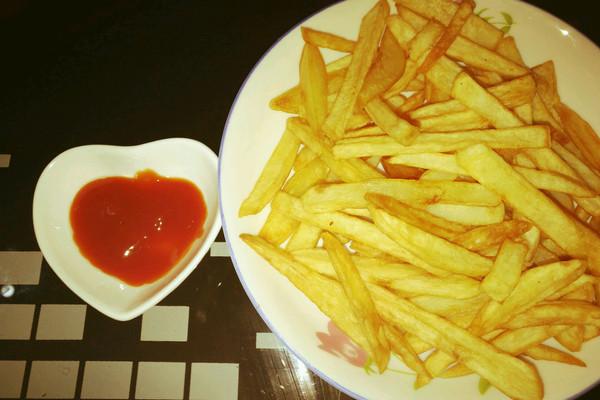 自制薯条的做法_【图解】自制薯条怎么做如何做好吃